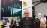 Bruce Paddington, Founder and Director of the ttff at the ACP booth in Brussels.
